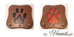 Hundeschlüsselbrett / Hundegarderobe der DOG BUTLER! - Hunde