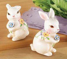 Bunnies Salt and Pepper Shaker Set