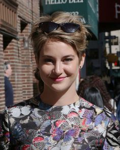 Superb How To Get A Pixie Cut Like Shailene Woodley In Insurgent Hair Short Hairstyles Gunalazisus