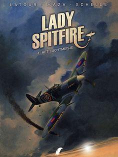 Lady Spitfire: 1. Het luchtmeisje