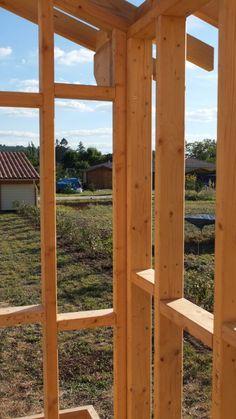 Autoconstruction Abri De Jardin Ou Chalet En Ossature Bois   Autoconstruction  Maison En Ossature Bois