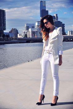 WHITE ON WHITE | Women's Look | ASOS Fashion Finder