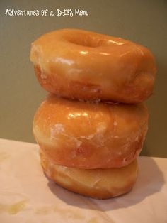 OMG.... so no good for me but way to good to pass up! Homemade Donuts with Boston Cream Filling