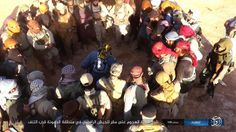 ISIS released photos of attack on Iraqi army HQ near Al-Tanf (from Iraqi side)
