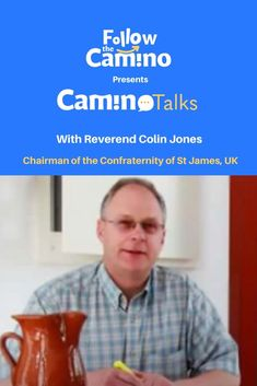#CaminoTalk In this episode of our talk series, we had a Camino Talk with Reverend Colin Jones. Colin is the Chairman of the Confraternity of St James in the UK. He has been on the Camino himself as a both a Pilgrim and a Hospitalero, a volunteer in an Albergue. In the UK, he is actively working within the Confraternity of St James. More info: The Camino, Saint James, Pilgrim, About Uk, First Love, Saints, Camino De Santiago, Pilgrims