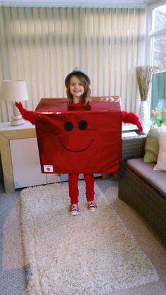 World book day easy costume Mr Strong