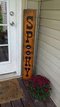 spooky-wood-porch-sign