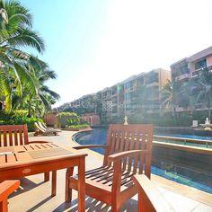 Lounge zone at Marrakesh Hua Hin Residences in Hua Hin, Thailand.