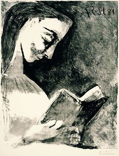 Lectrice, Picasso