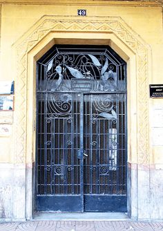 Wrought Iron Door, Casablanca | Sandra Cohen-Rose and Colin Rose | Flickr