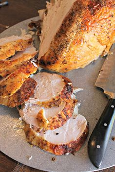 The most simple and delicious bone in crockpot turkey breast recipe that is perfect for any occasion! Check out my favorite way to prepare turkey breast! Turkey Breast In Crockpot Recipe, Turkey Crockpot Recipes, Breast Recipe, Crockpot Meals, Top Recipes, Healthy Recipes, Fast Recipes, Clean Eating Snacks, Healthy Eating