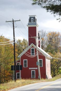 Old red schoolhouse