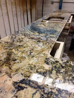 Genial Azuritti Granite Top In Our Shop! This Granite Gets Its Name From The Blue  Mineral