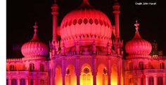 Image result for brighton pavilion at night