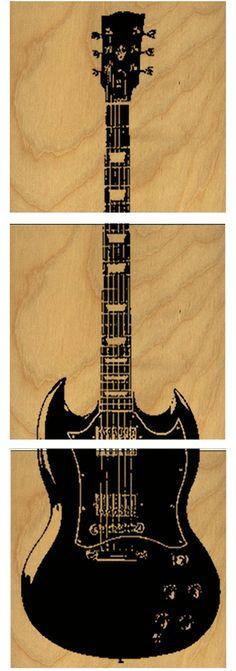 Custom Gibson Les Paul Electric Electric  Guitar by CedarWorkshop, $69.00