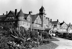 The Hotel Redondo (pictured above ) , which had fallen unto hard times due to the development of the port of San Pedro and prohibition which cost the hotel most of its patrons, was purchased by the City of Redondo Beach in 1922, and then leased to H.G. Lewis for offices for draftsment and surveyors working on the Palos Verdes Project. Once the first commercial building was constructed in Malaga Cove Plaza, the offices of the Palos Verdes Project were relocated, and the Hotel was closed in…