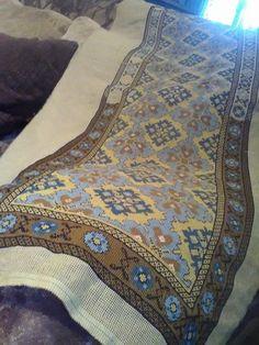 Gallery.ru / Фото #175 - ελληνικα - ergoxeiro Counted Cross Stitch Patterns, Cross Stitch Designs, Cross Stitch Embroidery, Embroidery Patterns, Crochet Patterns, Traditional Art, Needlepoint, Bohemian Rug, Fabric
