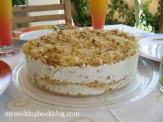 Торта с Кадаиф, Мед, Орехи и Извара с Портокалов аромат