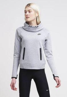 Nike Sportswear Jersey Con Capucha Dark Grey Heather Black jerseis y sudaderas Sportswear Nike Jersey Heather Grey Dark capucha black CentralModa.eu
