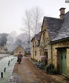 Bibury In December by Agustin Molina