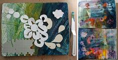 6 tips for using Gelli plate as a tool for self-expression on your mono prints