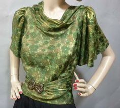 1930 - Callot Soeurs. Silk, metallic, plastic.
