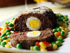 Made up healthy special supper ideas like Elephant Trunk Meatloaf (clue-it wasn't really an elephant trunk) Hard Boiled, Boiled Egg, Meat Loaf, Meatloaf Recipes, Main Meals, Deli, Eggs, Dinner, Breakfast