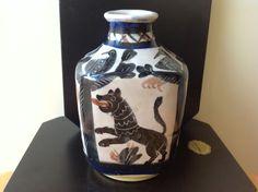 Ceramica 900 RARO Vaso I.C.S. Di Max Melarson(Vietri)DOLKER-KOVALISKA Anni 20/30