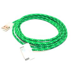by Eastern Collective: woven connector cable (cool usb cord)