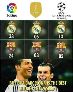 Real Madrid memes are viral right now. We compile the best collection of Real madrid memes just for you. Real Madrid Vs Barca, Real Madrid Team, Real Madrid Soccer, Real Madrid Players, Funny Football Memes, Soccer Jokes, Sports Memes, Soccer Tips, Nfl Sports