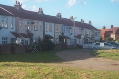 Love These Little Pastle Coloured Cottages. Sheringham, Norfolk...
