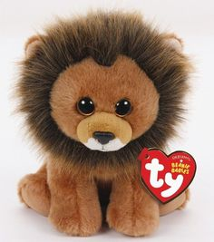 All sales of this adorable Cecil the Lion Beanie Baby will be donated to wildlife conservation