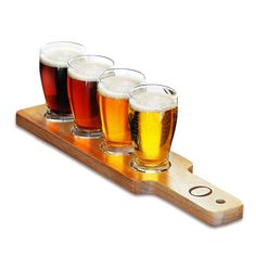 Personalized Beer Flight Sampler - Overstock™ Shopping - Great Deals on Shot Glasses