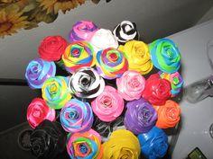 Duck Tape roses