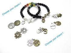 Chakra Bracelet Yoga Jewelry Hamsa Chakra Jewelry Hand Of Fatima Bohemian Yoga Bracelet Buddhist  Meditation Christmas Stocking Stuffer