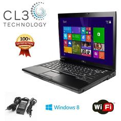 FAST Dell Latitude Laptop WiFi DVD/CDRW Windows 8 Notebook Computer + 4GB