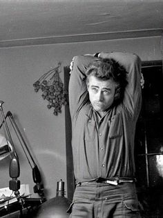 Rare picture of #JamesDean