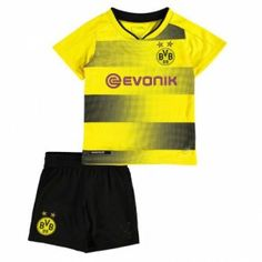2017 Cheap Youth Kit Borussia Dortmund Home Replica Suit [AFC278]