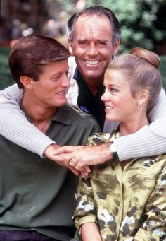 Peter, Henry and Jane Fonda