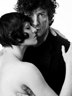 Two of my favorite artists in one pic (and getting married sometime in the future) ^_^ Sexy devils! (Amanda Palmer & Neil Gaiman)
