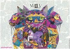кот/cat мои авторские открытки вы можете купить my author cards you can buy