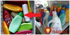 Šampóny, sprchové gély či obaly od prostriedkov na pranie. Prípravky, ktoré bežne používame amáme vždy poruke. Tušili ste však, že ich môžete skvele využiť aj potom, ako vyčerpáte ich obsah?