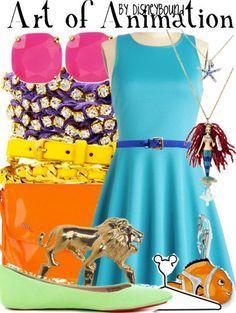 Disney+Bound The Art of Animation Cute Disney, Disney Style, Disney Inspired Fashion, Disney Fashion, Cool Tights, Cool Outfits, Fashion Outfits, Fashion Art, Character Inspired Outfits