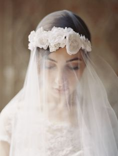 HEADPIECES, ACCESSORIES, & VEILS: Enchanted Atelier by Liv Hart and Liv Hart for Sophie Hallette