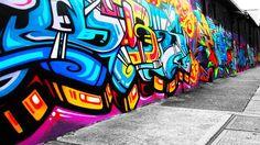 graffiti interior wall - Google Search