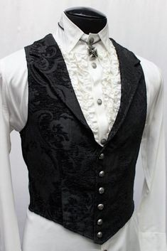 35 Popular Accessories To Add Your Formal Attire Ideas - Style Outfits, Gothic Outfits, Cool Outfits, Suit Fashion, Fashion Outfits, Fashion Trends, Fashion Styles, Fashion 2020, Gothic Fashion