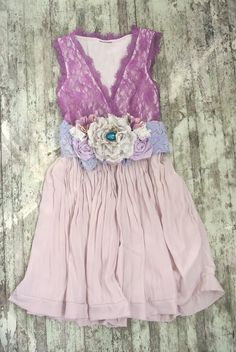 Upcycled Lace Dress Garden Party Sundress by TrueRebelClothing, $68.00