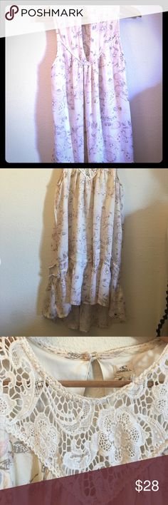 O'Neil paisley dress medium O'Neil flowy paisley dress medium.  Double lined. O'Neill Dresses Midi