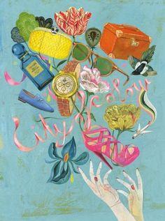 'City of Colour' by Olaf Hajek