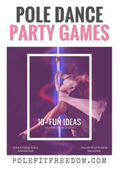 Pole Dancing Games - Ideas for your next Pole Dancing Party - Are you a Pole Dance Instructor looking for new and fun ways to engage with your students? Or, perhaps you're throwing a bachelorette party and need some inspiration for pole dancing party games. This post is dedicated to different pole dancing party games that can be played as a group. #PoleDance #bacheloretteparty #bachelorettepartyideas #PoleFitness #fitnessmotivation #fitnesschallenge #PartyGames